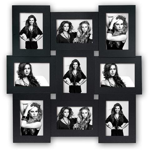 Vicenza Schwarz für 9 Bilder 10x15 cm