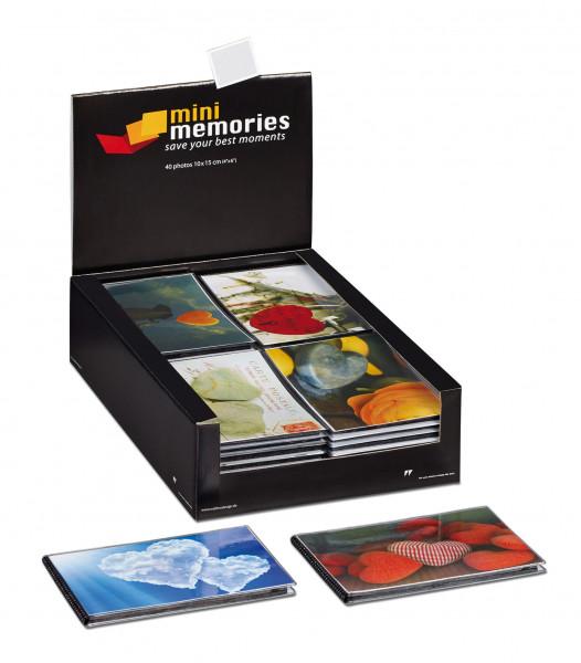 Mini Memories Hearts II im Display