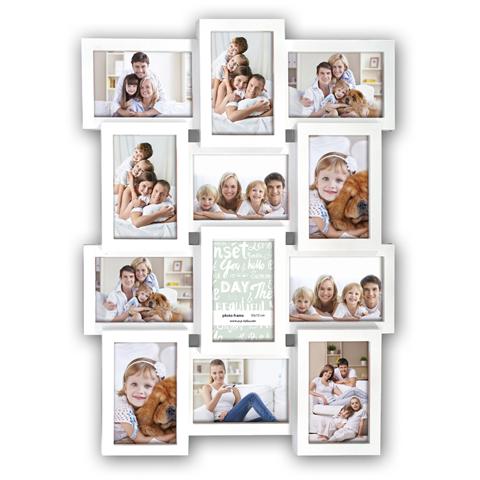 Weiss für 12 Bilder 10x15 cm