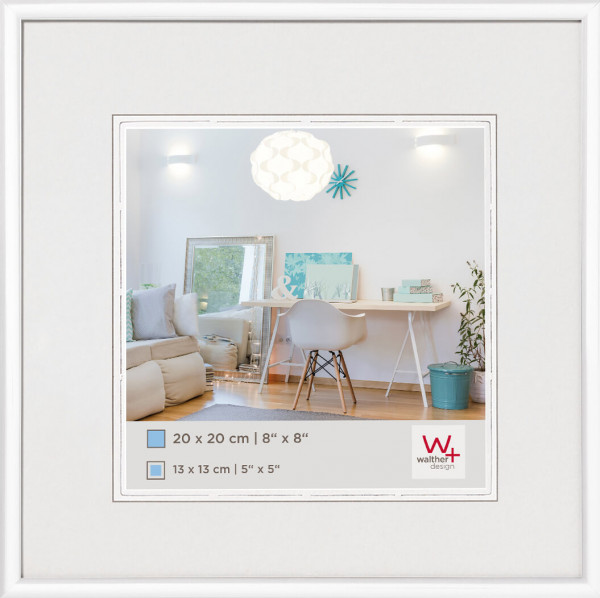 New Lifestyle 20x20 cm Weiß